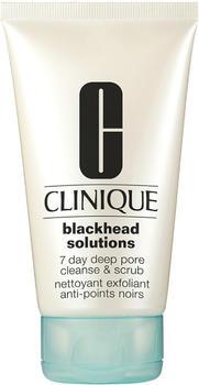 Clinique Blackhead Solutions 7 Day Deep Pore Cleanse & Scrub (125ml)