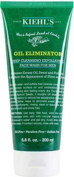 Kiehl's Oil Eliminator Deep Cleansing Exfoliating Face Wash For Men (200ml)