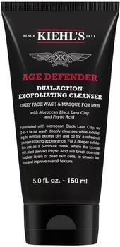 Kiehl's Men Age Defender Dual-Action Exfoliating Cleanser (150ml)