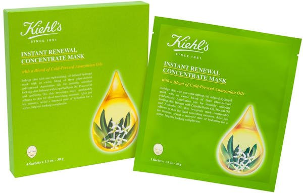 Kiehl's Instant Renewal Concentrate Mask (4x30g)
