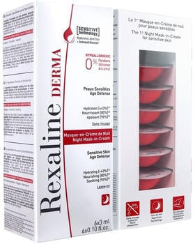 Rexaline Derma Night Mask-in-Cream (6 x 3ml)