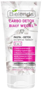 Bielenda Carbo Detox White Carbon 3in1 Cleansing Paste (150ml)