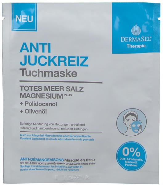 DermaSel Anti-Juckreiz Tuchmaske (1 Stk.)