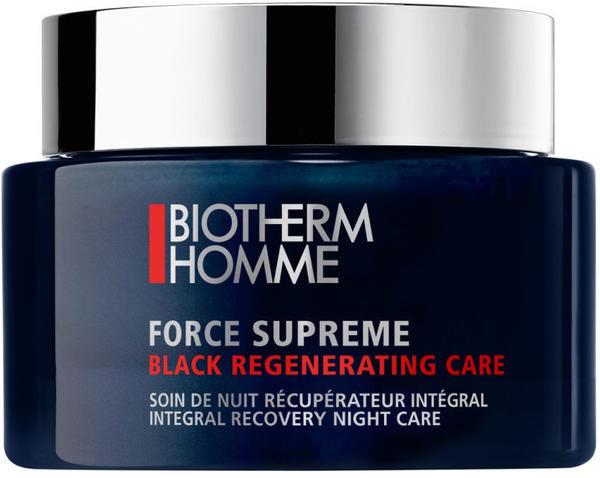 Biotherm Homme Force Supreme Black Regenerating Care Nachtcreme (75ml)