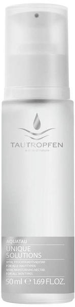 Tautropfen Unique Solutions Aquatau Gesichtsserum (50ml)