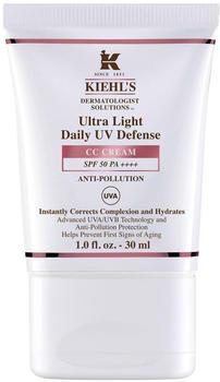 Kiehl's Ultra Light Daily UV Defense CC Cream SPF 50 PA+++ Shade 2 (30 ml)