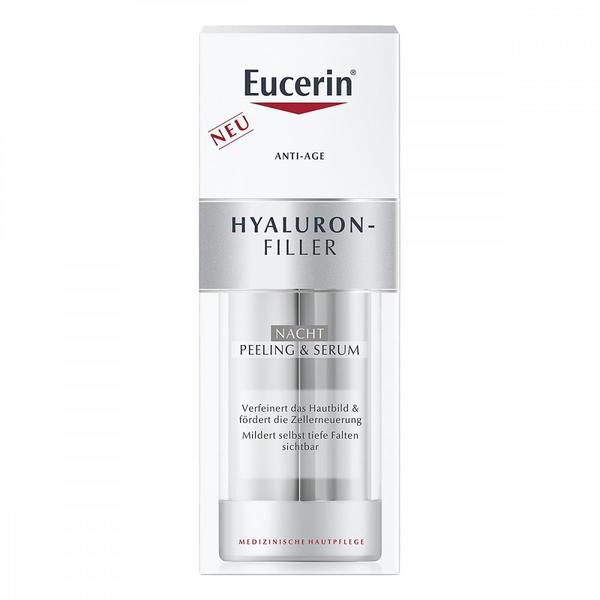 Eucerin Hyaluron-Filler Nacht Peeling & Serum (30ml)
