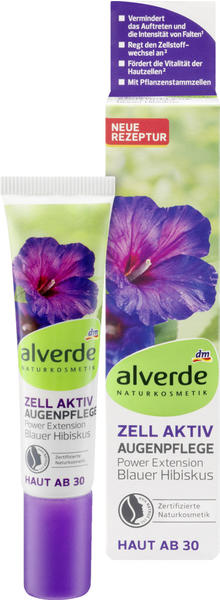 Alverde Zell Aktiv Augenpflege Blauer Hibiskus (15ml)