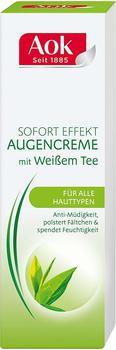 AOK Sofort Effekt Augencreme mit Weißem Tee (15ml)
