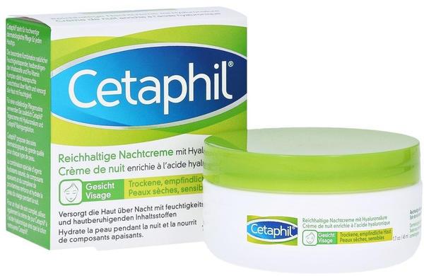 Galderma Cetaphil reichhaltige Nachtcreme mit Hyaluronsäure (48ml)