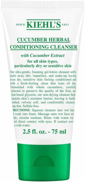 Kiehls Cucumber Herbal Conditioning Cleanser (75 ml)