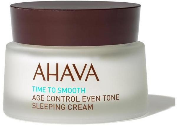 Ahava Time to Smooth Age Control Even Tone Sleeping Cream (50ml)