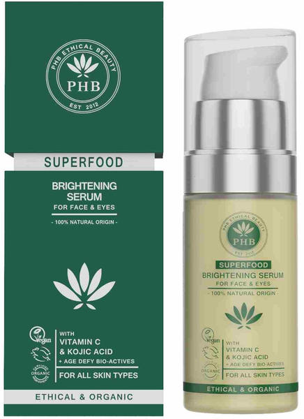 PHB Ethical Beauty Superfood 2in1 Face & Eye Serum (30ml)