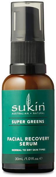 Sukin Super Greens Facial Recovery Serum (30ml)