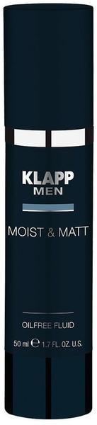 Klapp Men Moist & Matt Oilfree Fluid (50ml)