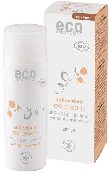 Eco Cosmetics Antioxidant CC Cream SPF 50 Dunkel (50ml)