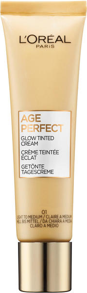 L'Oréal Age Perfect Getönte Tagescreme 01 Hell bis Mittel (30ml)