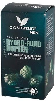 Cosnature Men All-in-one Hydro-Fluid Hopfen Gesichtspflege