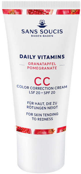 Sans Soucis Daily Vitamins Pomegranate CC Daily Color Correction Cream SPF 20 (30ml)