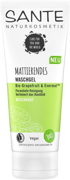 Sante Naturkosmetik Sante Mattierendes Waschgel Bio-Grapefruit & Evermat (100ml)