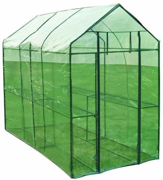 vidaXL Steel greenhouse 40618