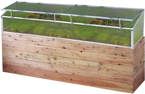 Juwel Thermo-Frühbeet 150x75cm für Holzhochbeet (20444)