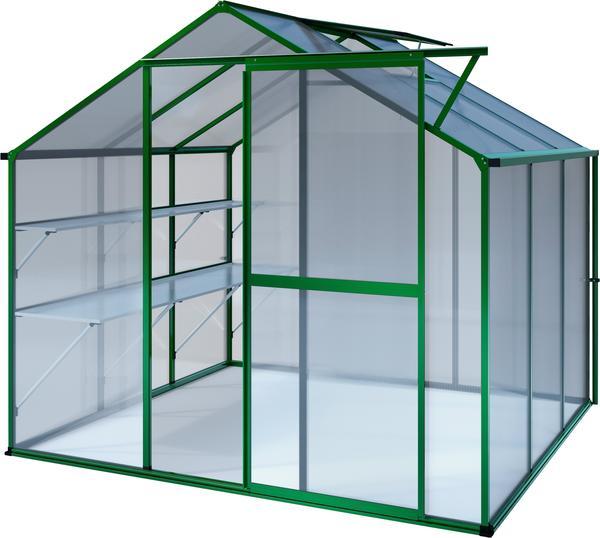 KGT Flora III Alu grün HKP 6 mm 5,15 m²