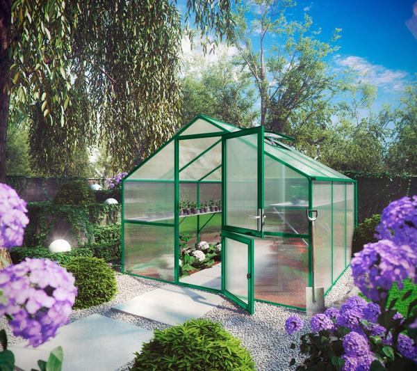 KGT Orchidee III Alu moosgrün HKP 10 mm 9,59 m²