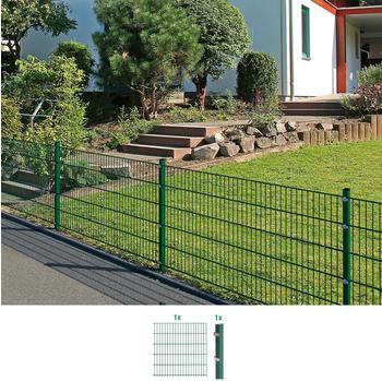 GAH Alberts Gustav GAH Alberts Komplettset Doppelstabmatten 2 m, 1600 mm hoch, grün