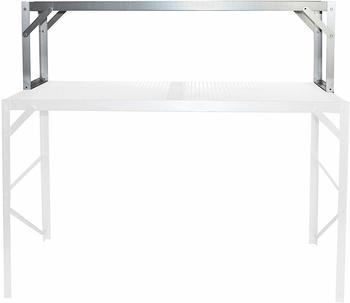 Vitavia Tischaufsatz für Alu-Regal HKP silber (121 x 54 cm)
