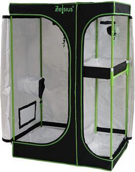 Zelsius Grow Tent 90 x 60 x 135 cm) schwarz/grün Pflanzenzucht Indoor