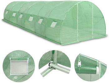 vidaXL Steel greenhouse 45537