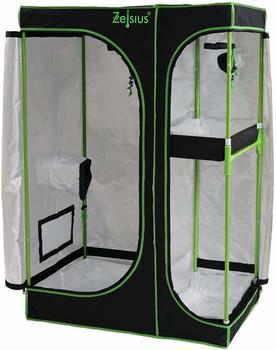 Zelsius Grow Tent 120 x 90 x 145 cm schwarz/grün Pflanzenzucht Indoor