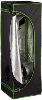 Relaxdays Growbox 40 x 40 x 120 cm schwarz/grün