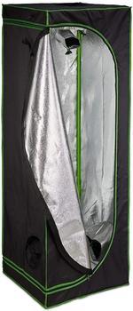 Relaxdays Growbox 60 x 60 x 180 cm schwarz/grün