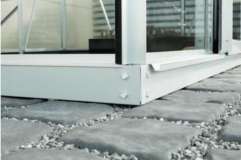 Vitavia Stahlfundament für Ida 3300 silber