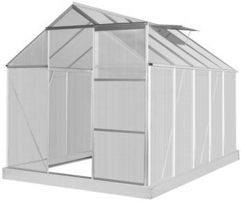 Konifera Gewächshaus Florenz, BxTxH: 190 x 310 x 195 cm, 4 mm Wandstärke
