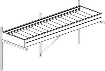 KGT Kreative Garten Technik Pflanzwanne Callas III 63,5 cm tief, pressblank