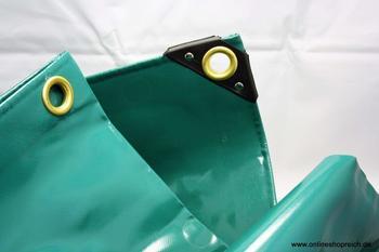 Zill PVC-Abdeckplane PolyTarp 650 5 x 8 m (650g/m²) grün