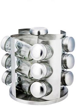 KINGHOFF Gewürzbehälter-Set Rotary 13 Tlg KH-4005