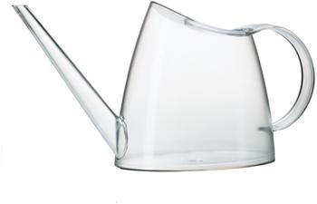 Emsa Blumengießer Fuchsia 1,5 Liter transparent weiß