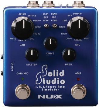 nuX Solido Studio IR & Pow Amp Sim