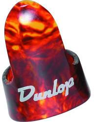 Jim Dunlop 9020R Shell Plastic Fingerpicks, Large, 12/Bag