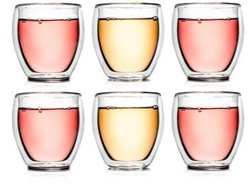 Creano Latte Macchiato Thermoglas 250 ml 6er Set