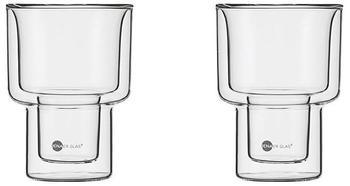 Jenaer Glas hot'n cool Becher L 300 ml 2er Set