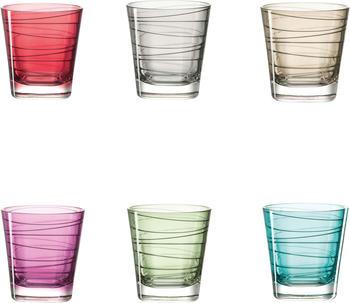 Leonardo Vario Becher klein farbig sortiert 6er Set