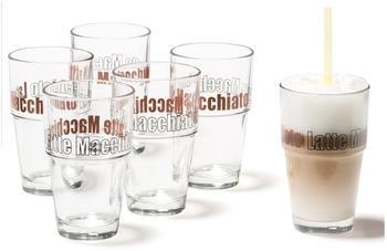 Leonardo Solo Becher Latte Macchiato 6-tlg (43399)