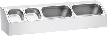 Bartscher GN-Behälter Aufsatzbord B 980 x T 250 mm
