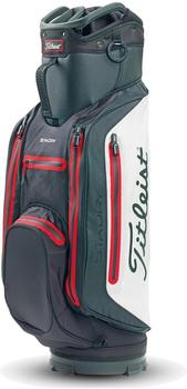 Titleist StaDry Lightweight Cartbag black/white/red (TB8CT3E)