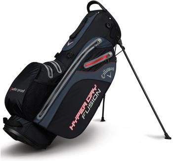 Callaway Hyper Dry Fusion Standbag black/titanium/red